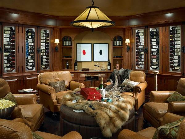 wine storage room designs