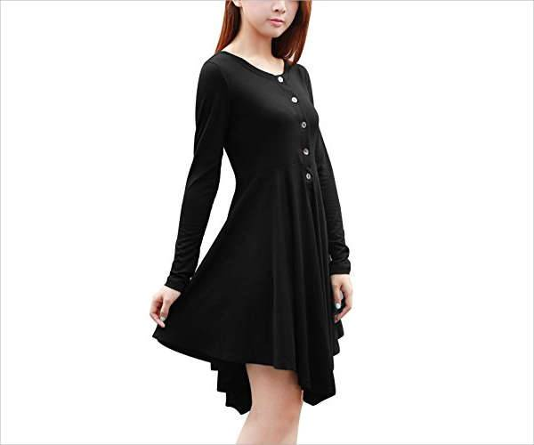 winter a line dresses