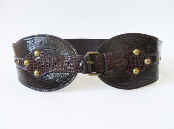 womens leather waist belt