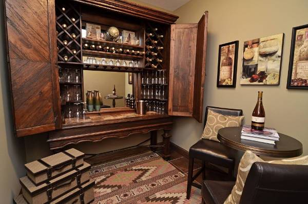 Wooden Wine Cellar Design