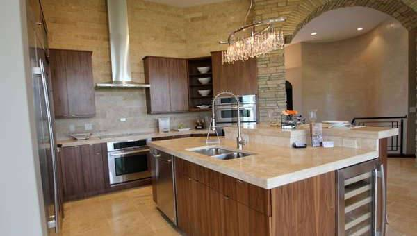 Awesome Travertine Kitchen Tiles