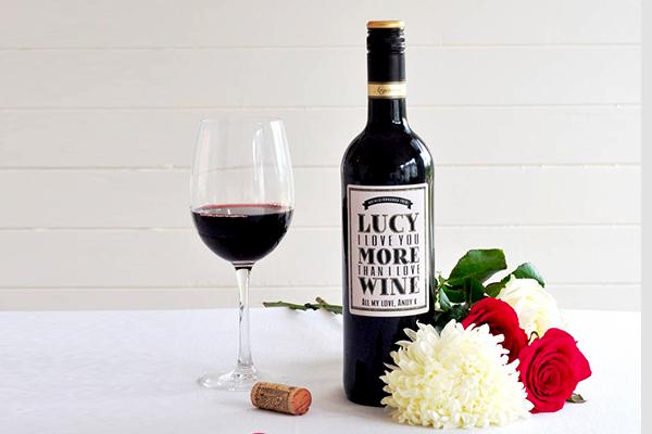Personalised Wine Bottles