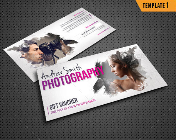3 in 1 Photography Studio Gift Voucher