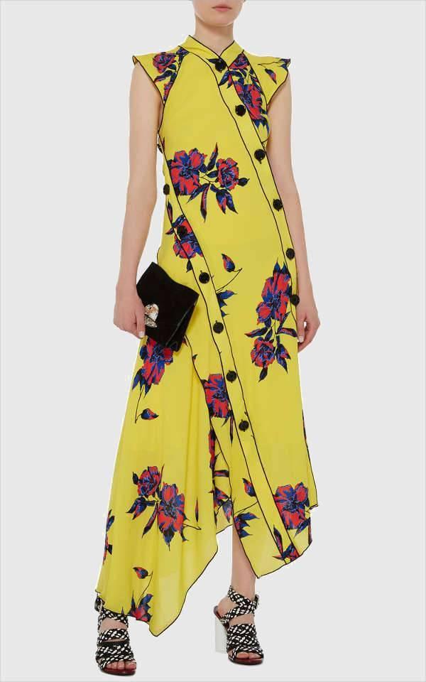 3. Proenza Schouler Asymmetrical Dress