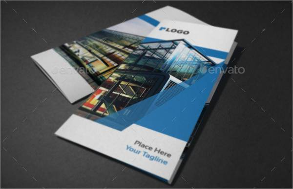 A4 Corporate Tri-Fold Brochure