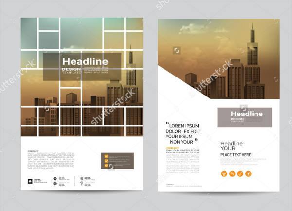 A4 Creative Company Brochure