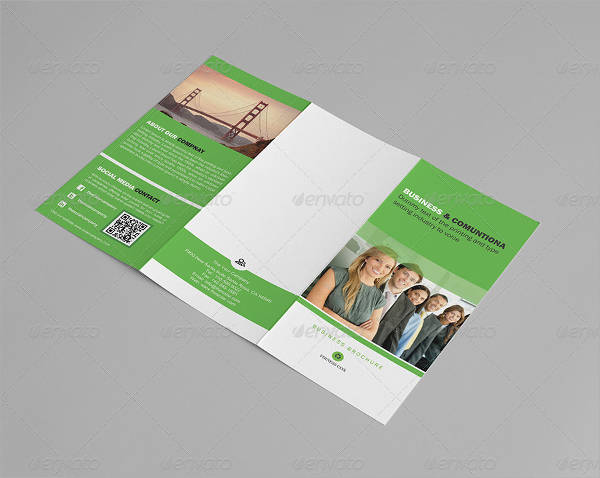 A4 Trifold Business Brochure