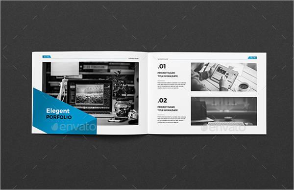 A5 Business Company Brochure
