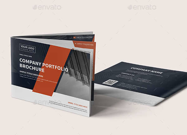 A5 Corporate Company Brochure