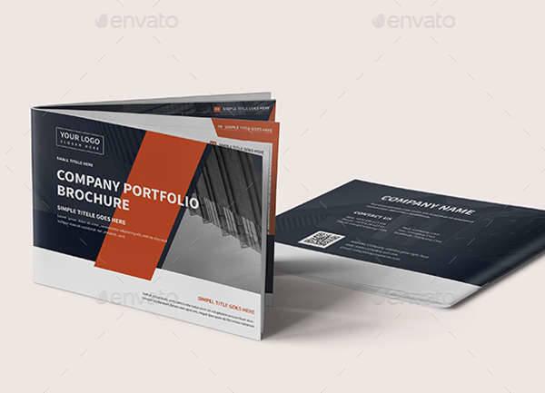 A5 Corporate Company Brochure