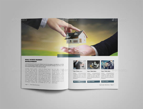 A5 Real Estate Agency Brochure