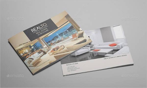 A5 Real Estate Brochure Catalog