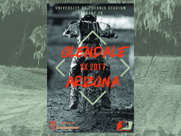 action sports event poster