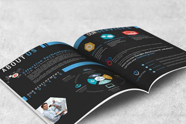 Advertising Company Brochure Design