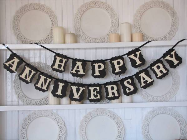 anniversary party banner