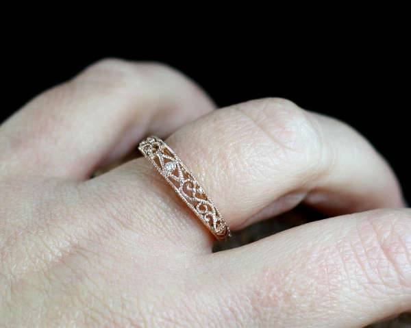 Antique Rose Gold Ring