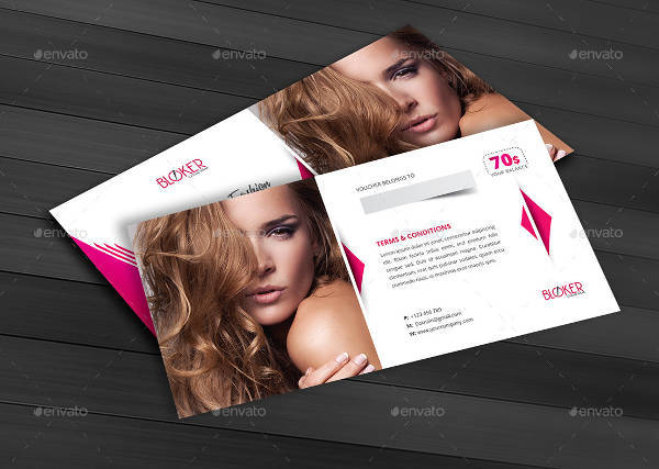 Beauty Fashion Gift Voucher