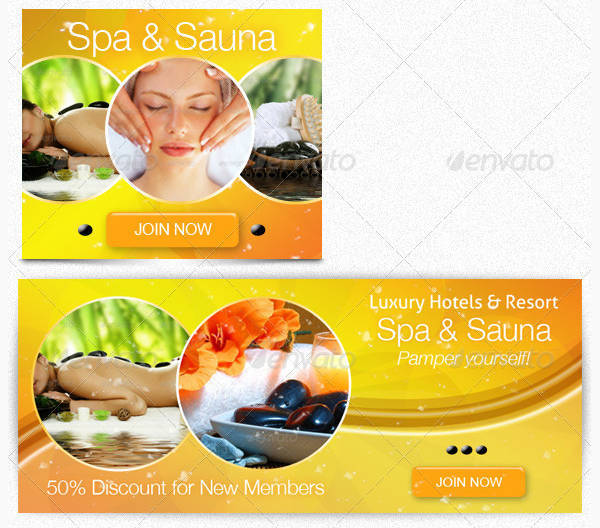 Beauty & Spa Web Banner