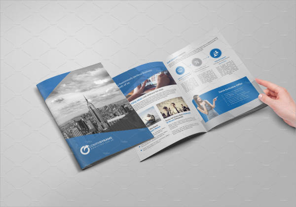 Bi Fold Business Brochure
