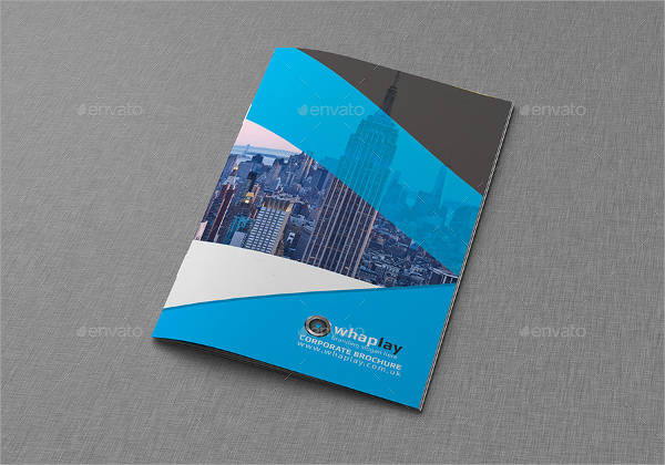 Bi-fold Clean Business Brochure