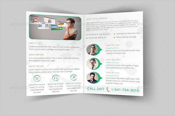Bi-fold Company Business Brochure