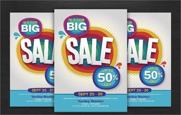 Big Sales Flyer