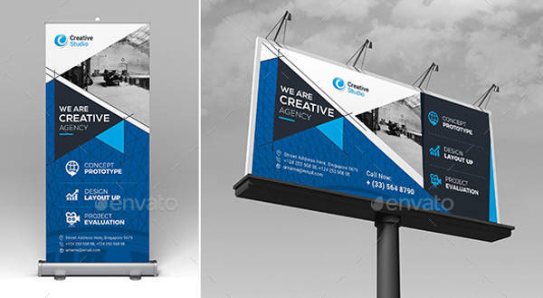 Billboard & Roll Up Banner