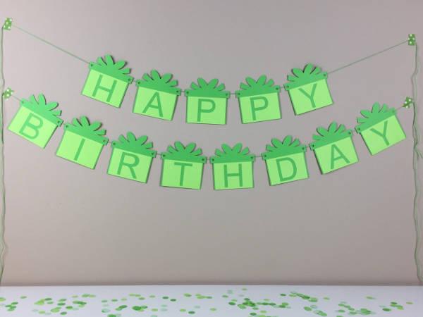 birthday party celebration banner