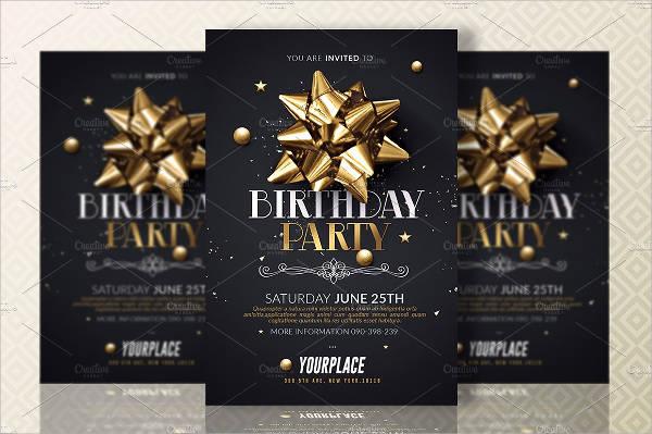 birthday party invitation card2