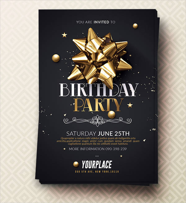 40  invitation flyer designs