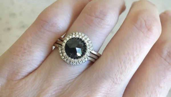 Awesome Black Engagement Ring Designs