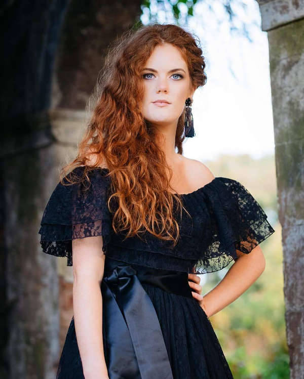 black lace prom dress1