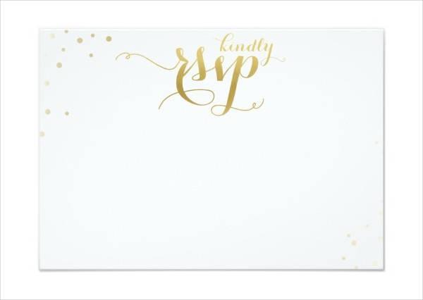 Blank Printable Wedding Invitation