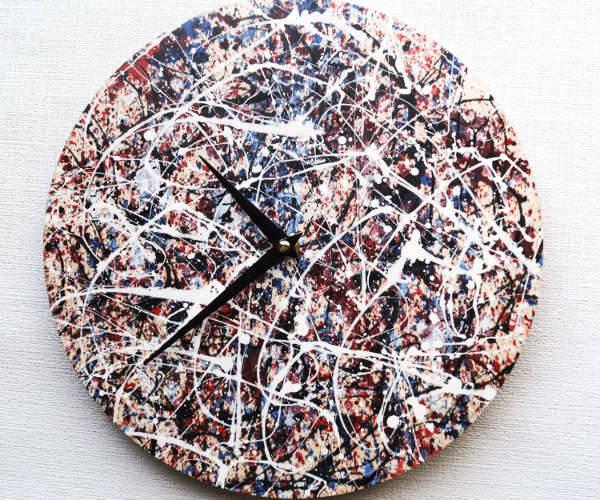 Boho Artistic Wall Clock