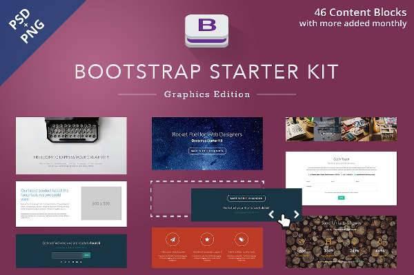 bootstrap starter ui kit