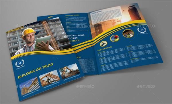 Building Construction Company Brochure