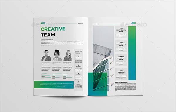 Business Company Brochure Catalogue