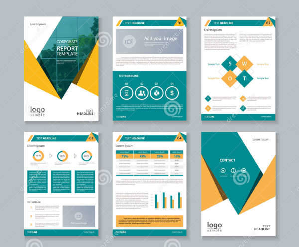 36 company brochure designs psd ai indesign vector for Company portfolio template doc