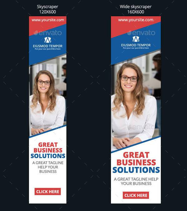 Business Corporate Web Banner