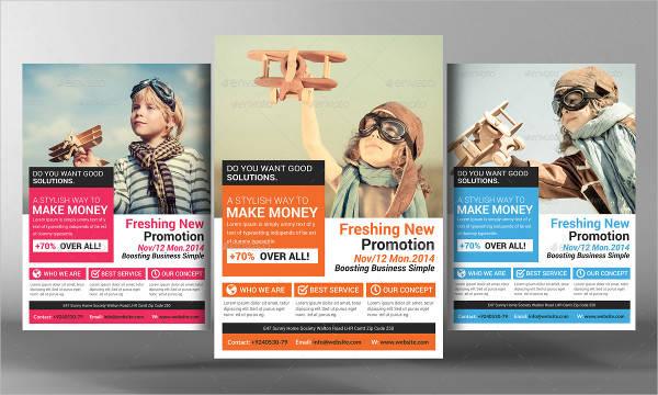 Business Marketing Flyer Design
