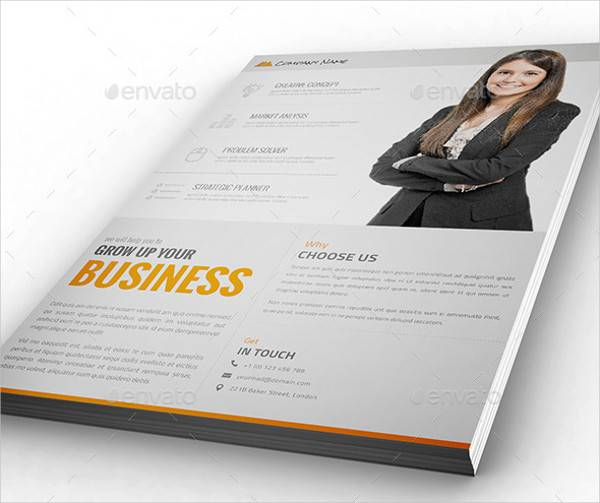 Business Promotional Flyer