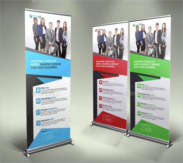 Business Roll Up Stand Banner