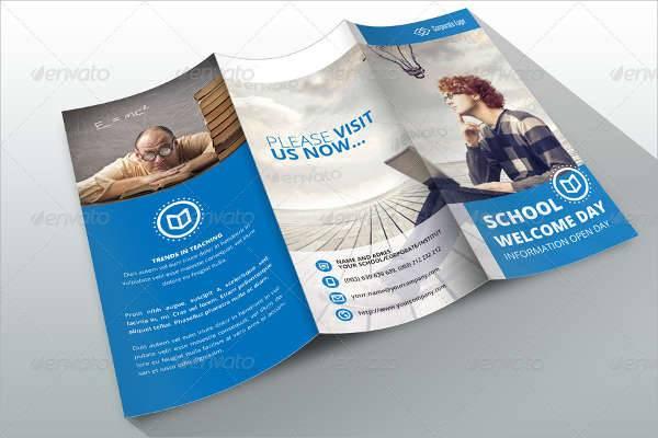 Business School InDesign Brochure