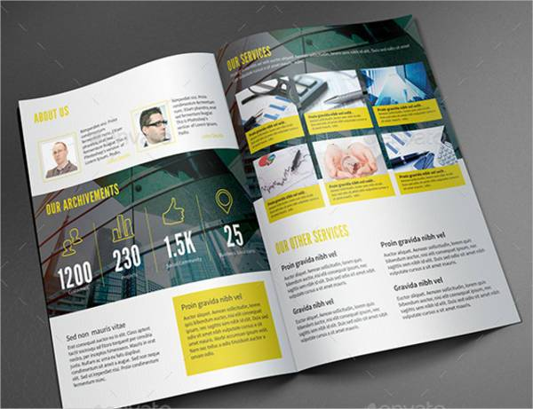 Business Services Bifold Brochure