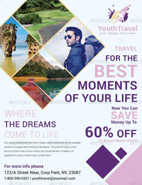 Business Travel Agency Flyer