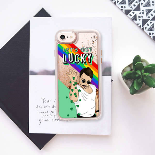 Casetify iPhone Let's Get Lucky Phone Case