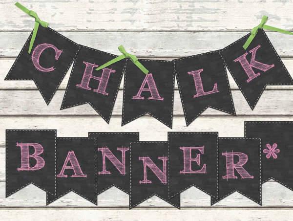 Chalkboard Graduation Party Banner