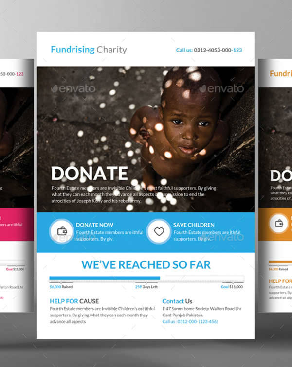 Charity Donation Flyer Template  Donation Flyer Template