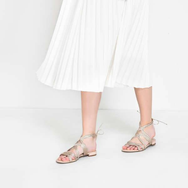 charles keith braided strap sandals