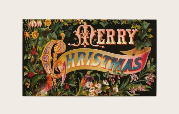 Christmas Business Greeting Card